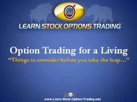 Can you really make a living trading options